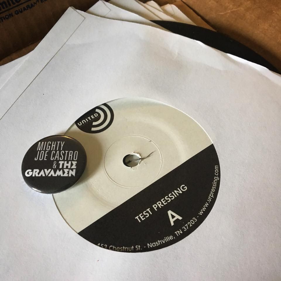 MIghty Joe Castro and the Gravamen test pressing