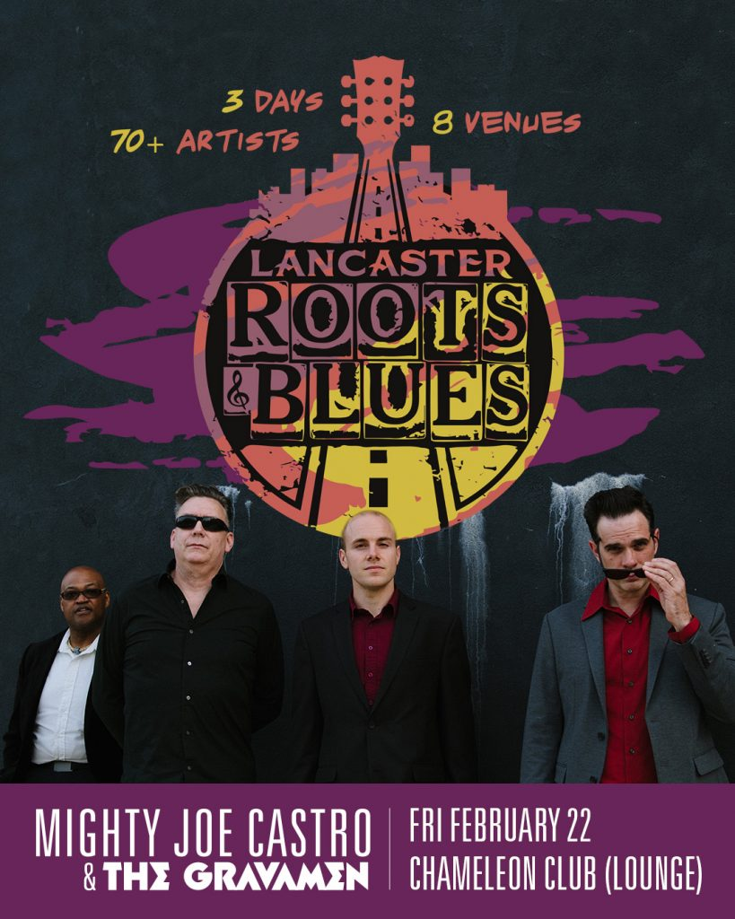 Mighty Joe Castro and the Gravamen at the Lancaster Roots and Blues Festival