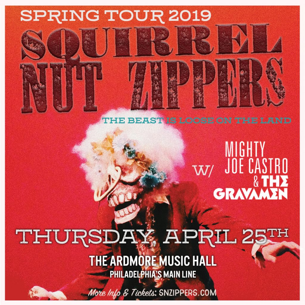 Mighty Joe Castro and the Gravamen with Squirrel Nut Zippers Ardmore Music Hall
