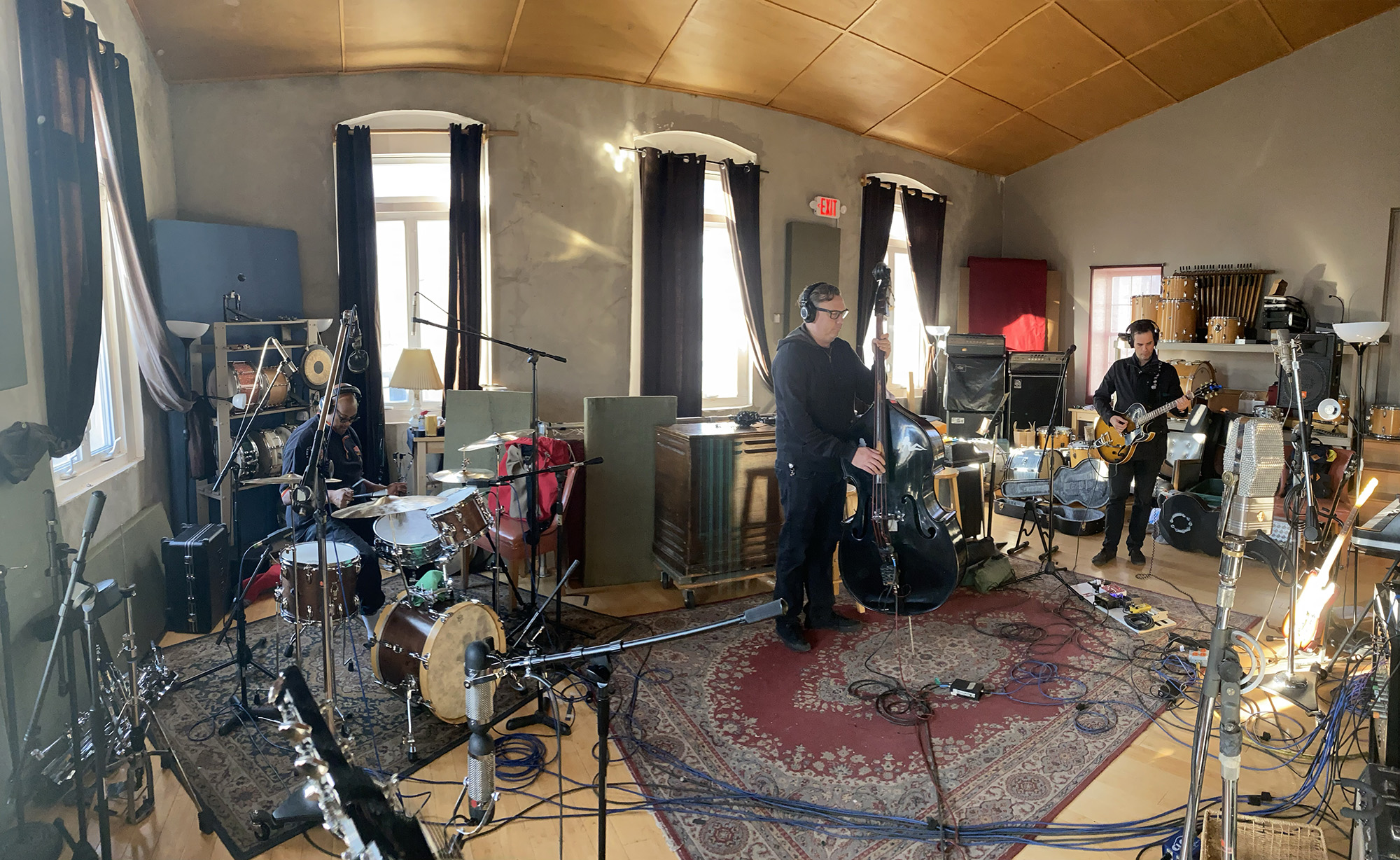 Mighty Joe Castro and the Gravamen at Miner St Recording Philadelphia