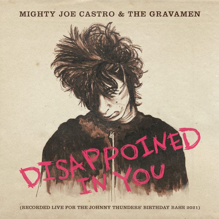 Mighty Joe Castro and the Gravamen Disappointed in You cover artwork